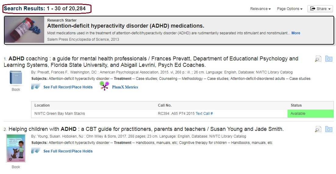 search results for adhd treatment
