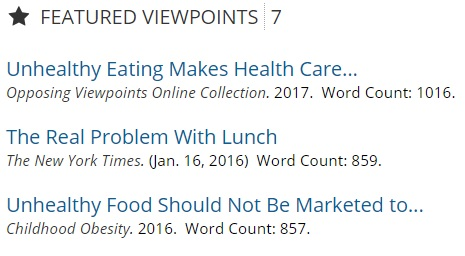Featured viewpoints