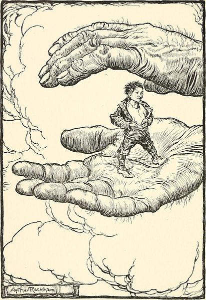 Tom Thumb. Creative Commons image from Wikimedia Commons.