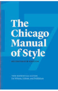 Cover Chicago Manual of Style