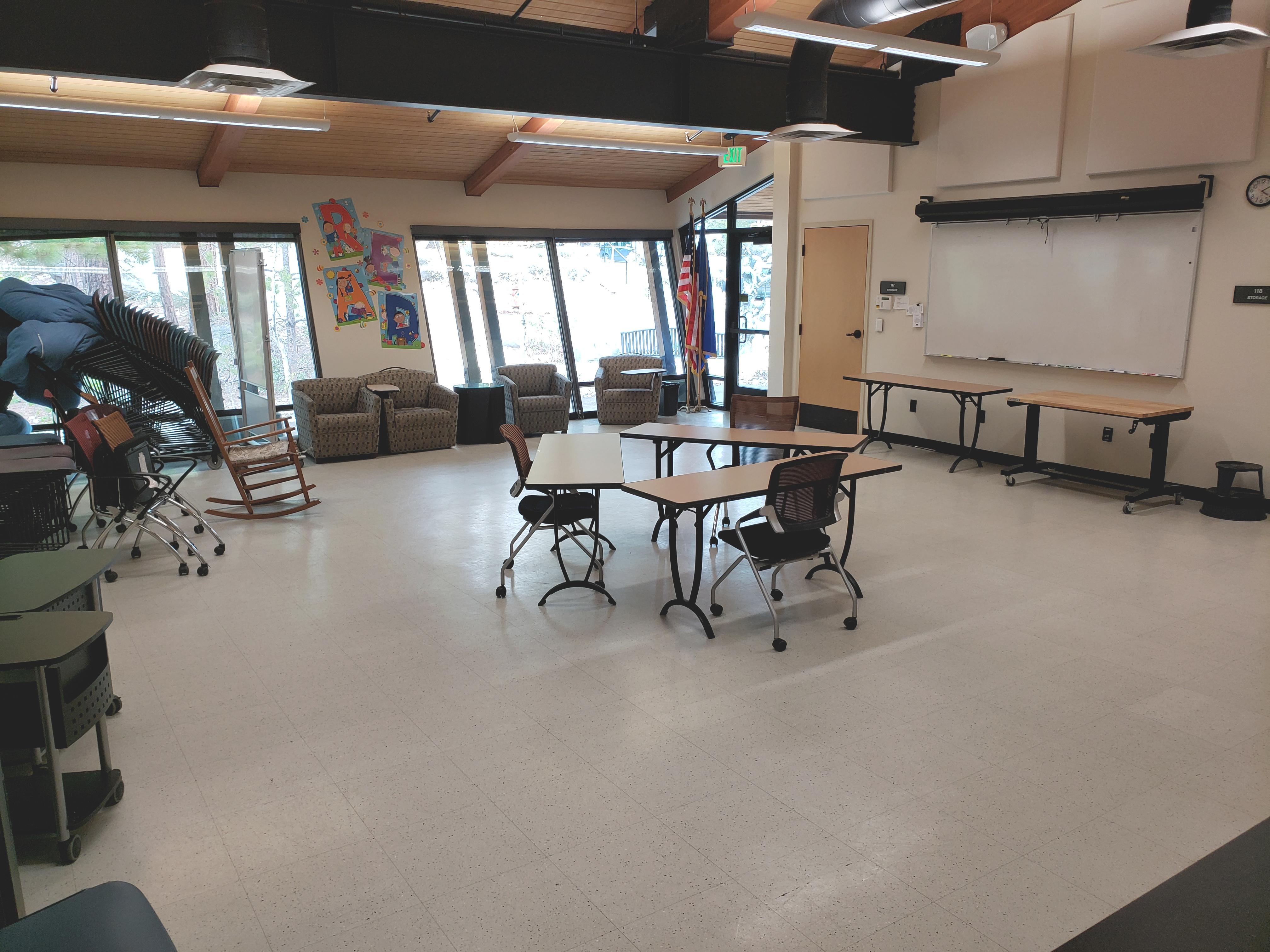 meeting room looking northwest