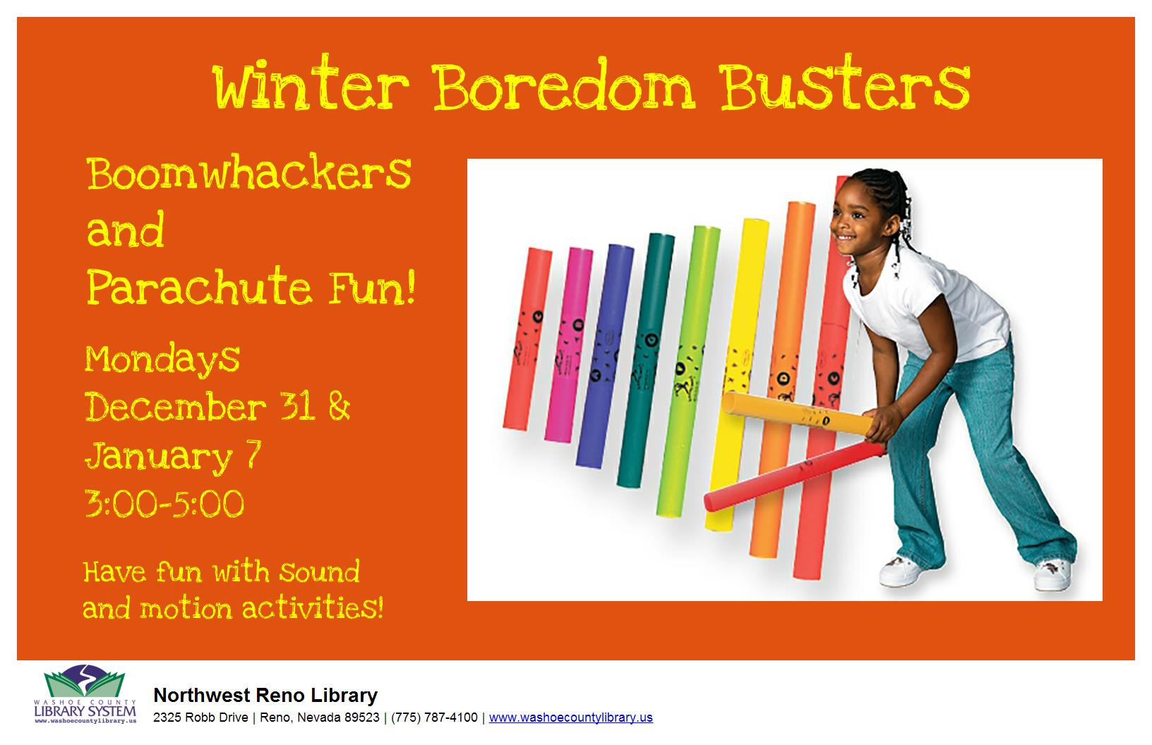 Boredom Busters: Boomwhackers® and Parachute Fun!