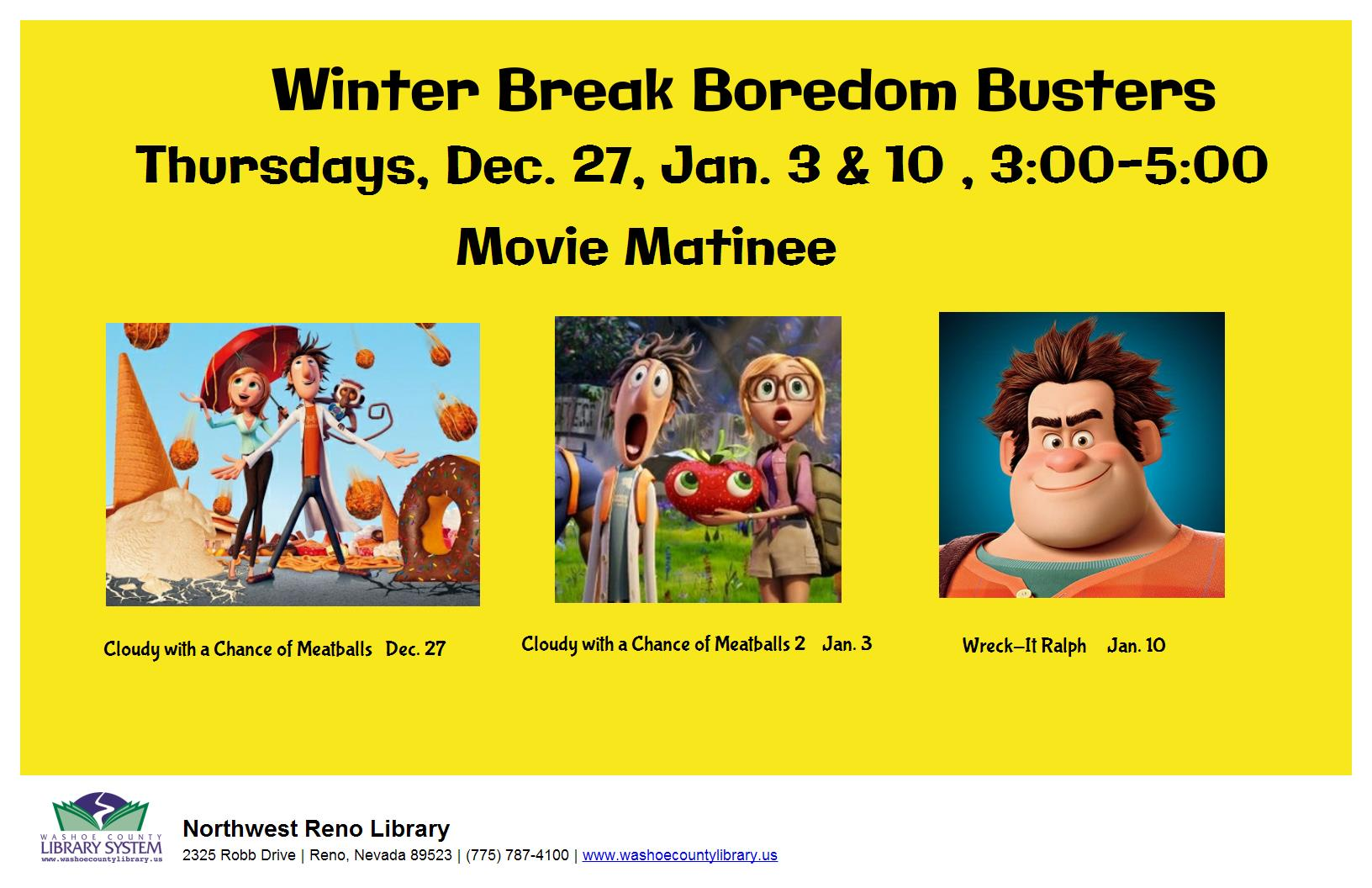 Boredom Busters Movie Matinee: Incredibles 2