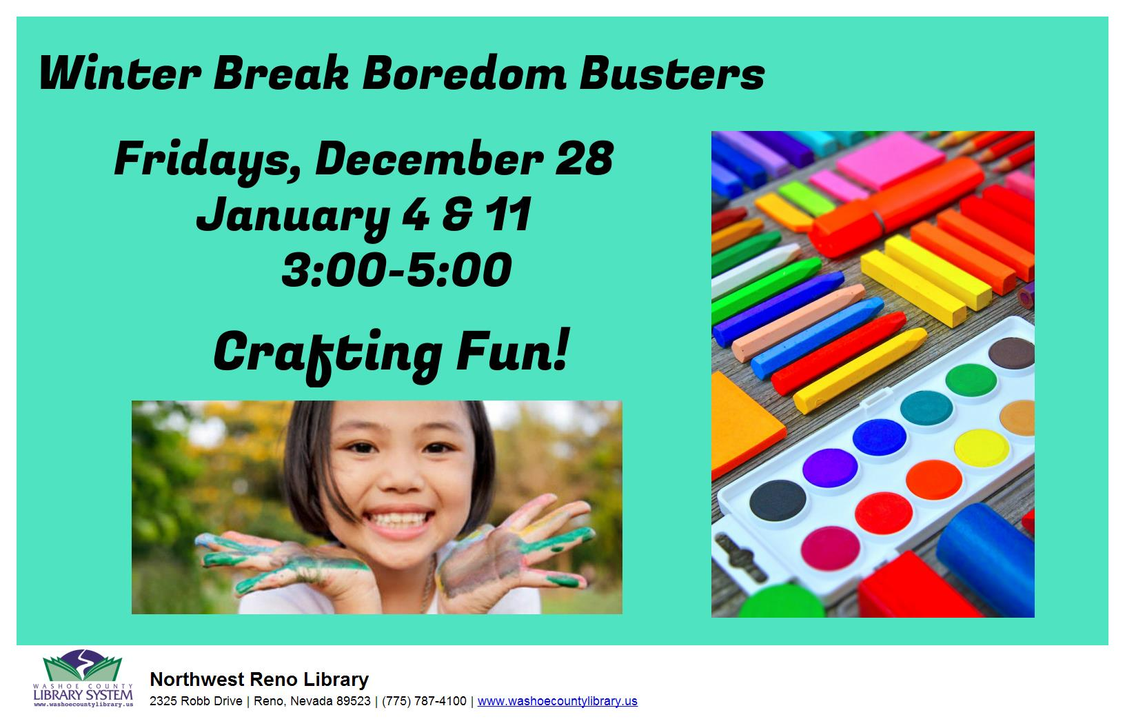 Boredom Busters: Crafting Fun!