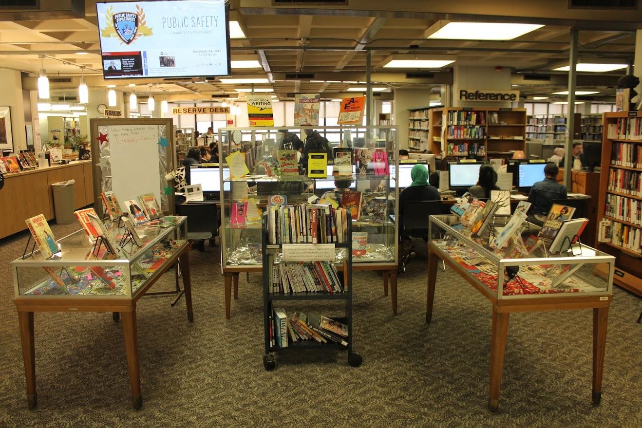 library display - full display