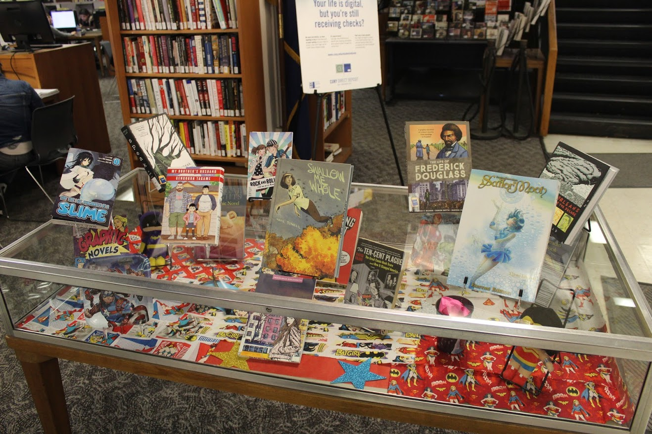 library display - right side