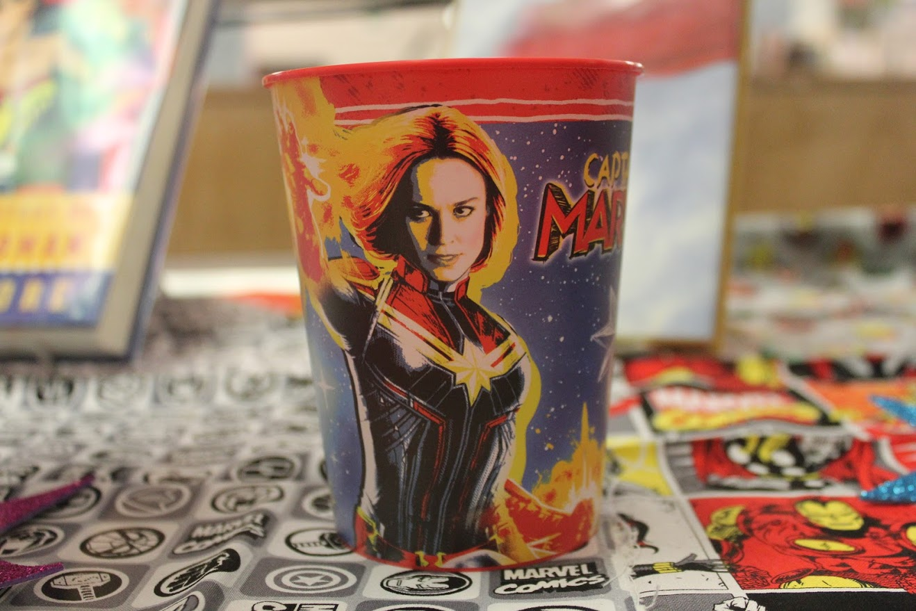 captain marvel cup