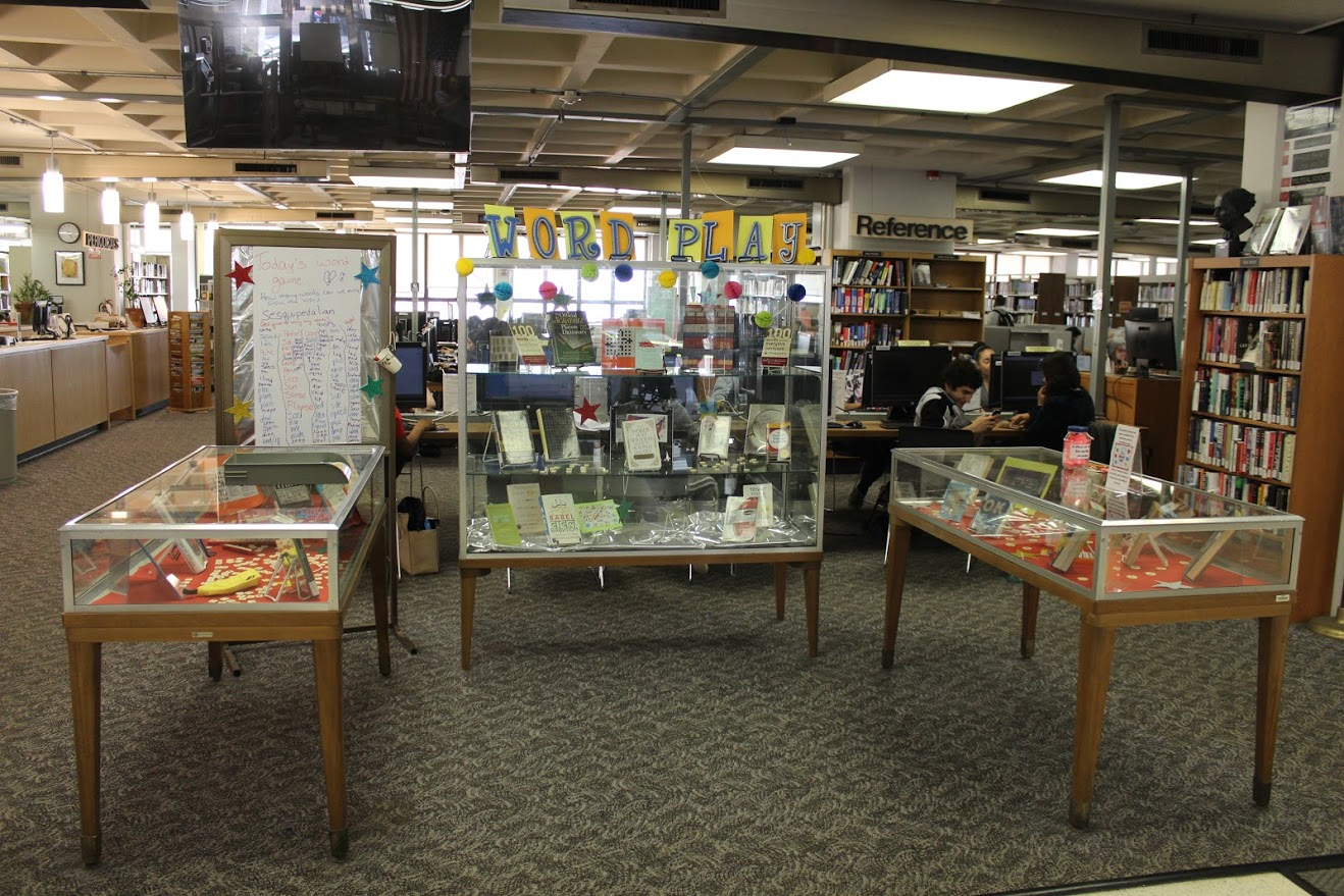 library display for