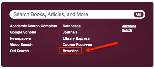 Browzine Link