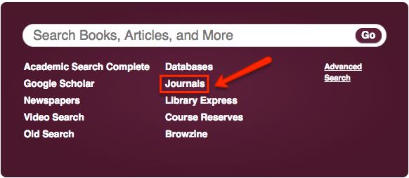 Journals link