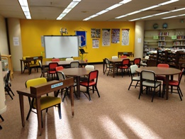 Photo of Learning Resource Center classroom area