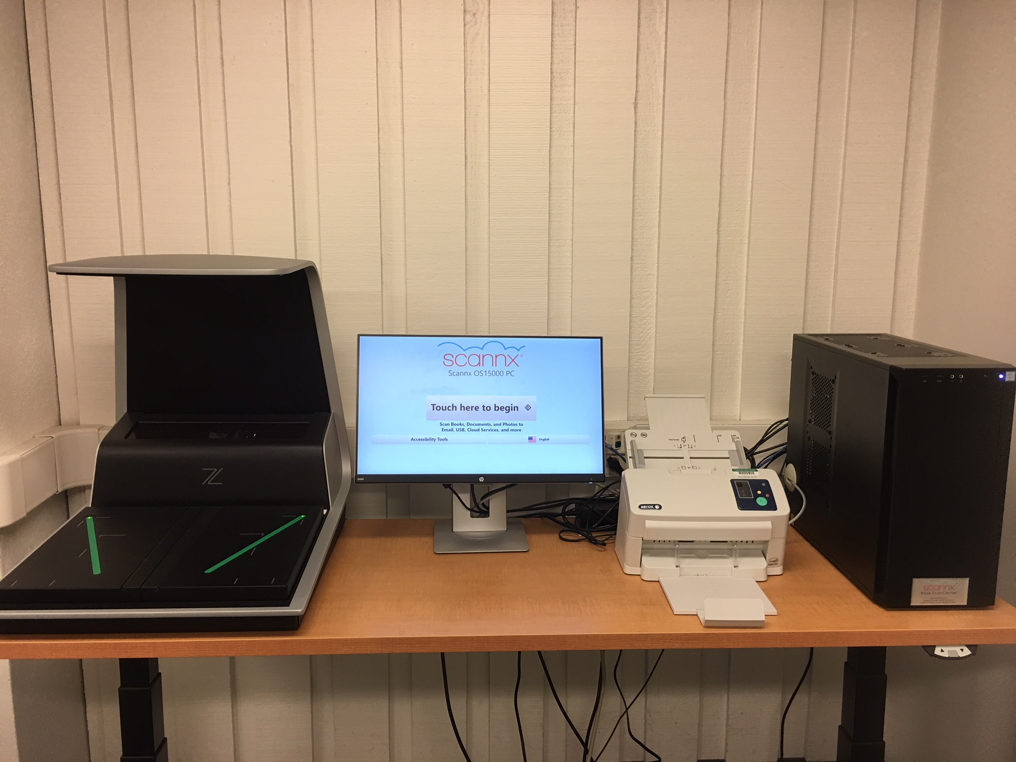 Photo of document scanner
