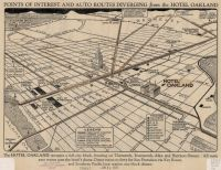 Historical map of Oakland