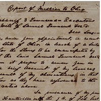 closeup of handwritten page