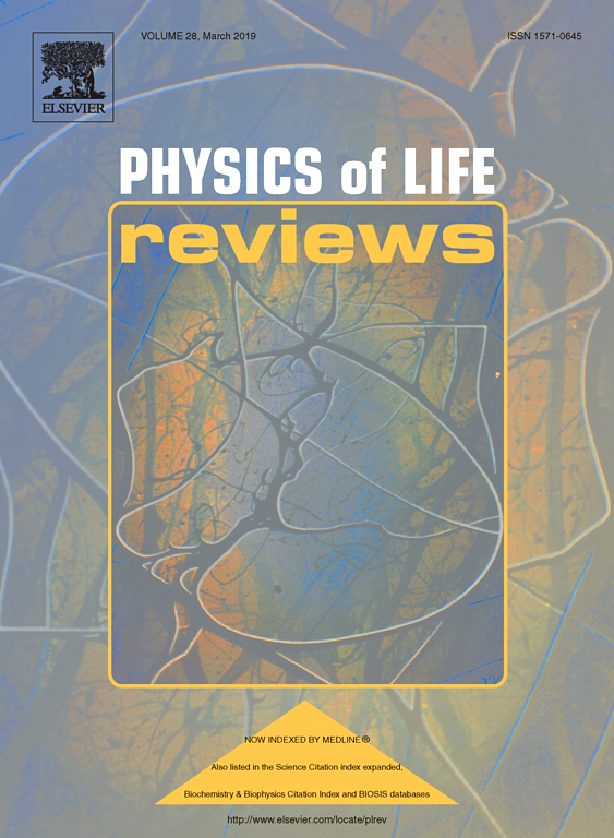Image of Physics of Life Reviews