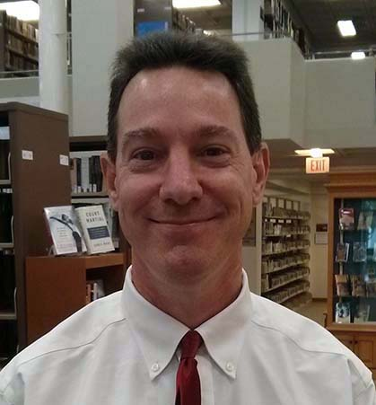 Picture of Paul Jenkins, University Librarian