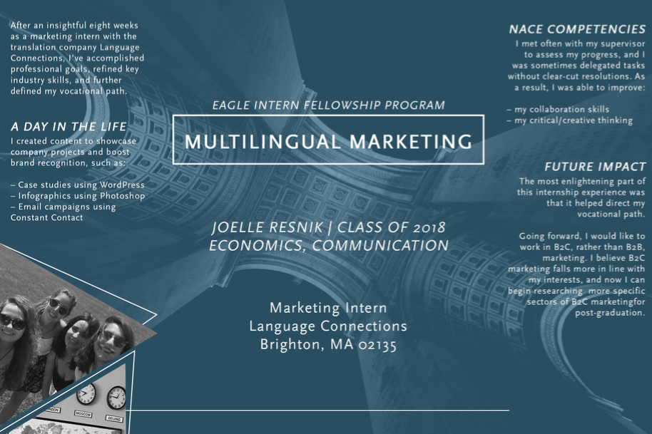 Language Connections Poster