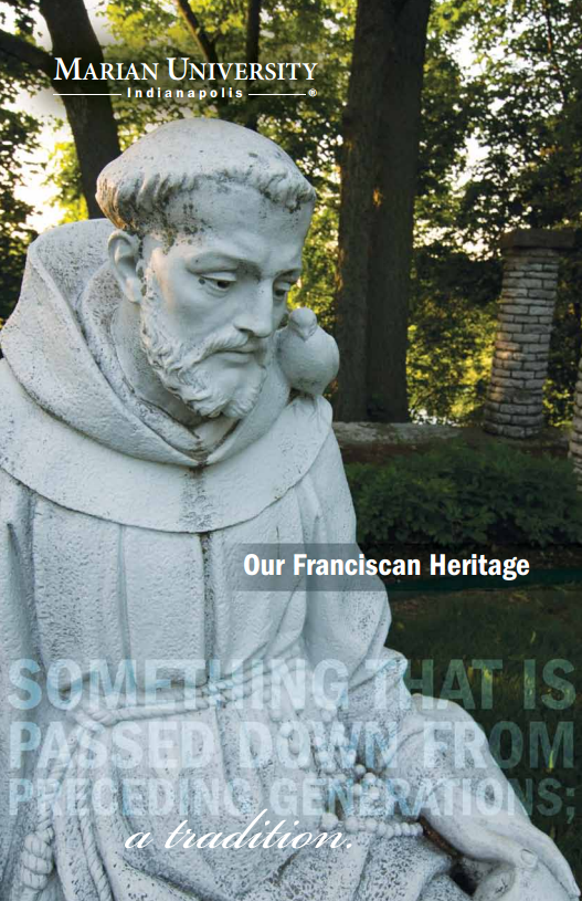 Franciscan Heritage Booklet cover