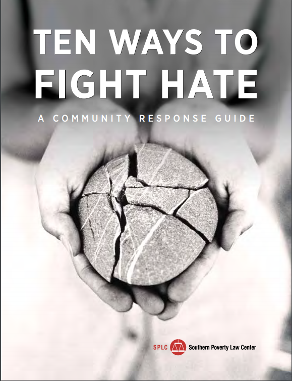 Cover photo of Ten Ways to Fight Hate PDF