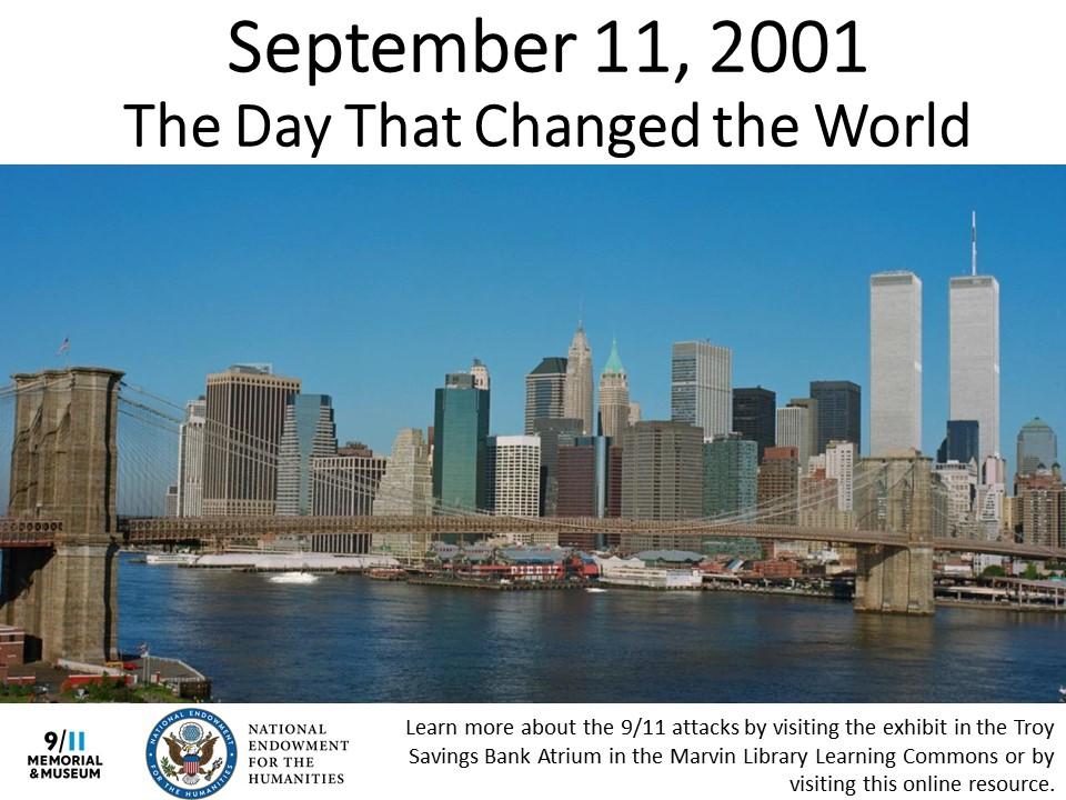 9/11 Anniversary Exhibit Announcement