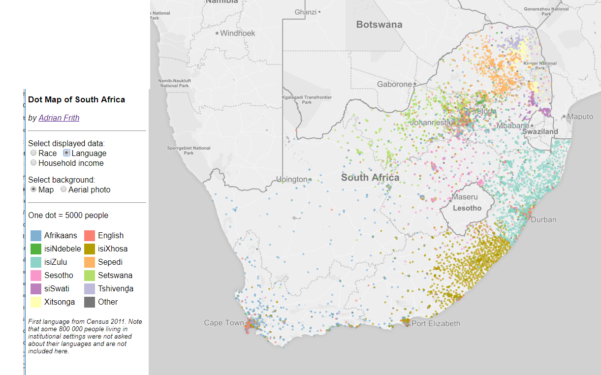 Language Diversity in South Africa