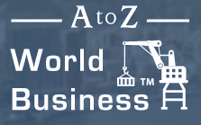 A to Z World Business Logo