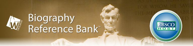 Biography Reference Bank from EBSCO