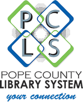 pope county library system logo