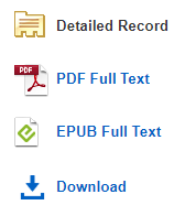 Ebsco eBooks options