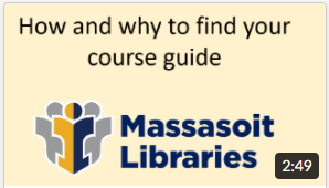Video: The best place to start your research - your course guide!