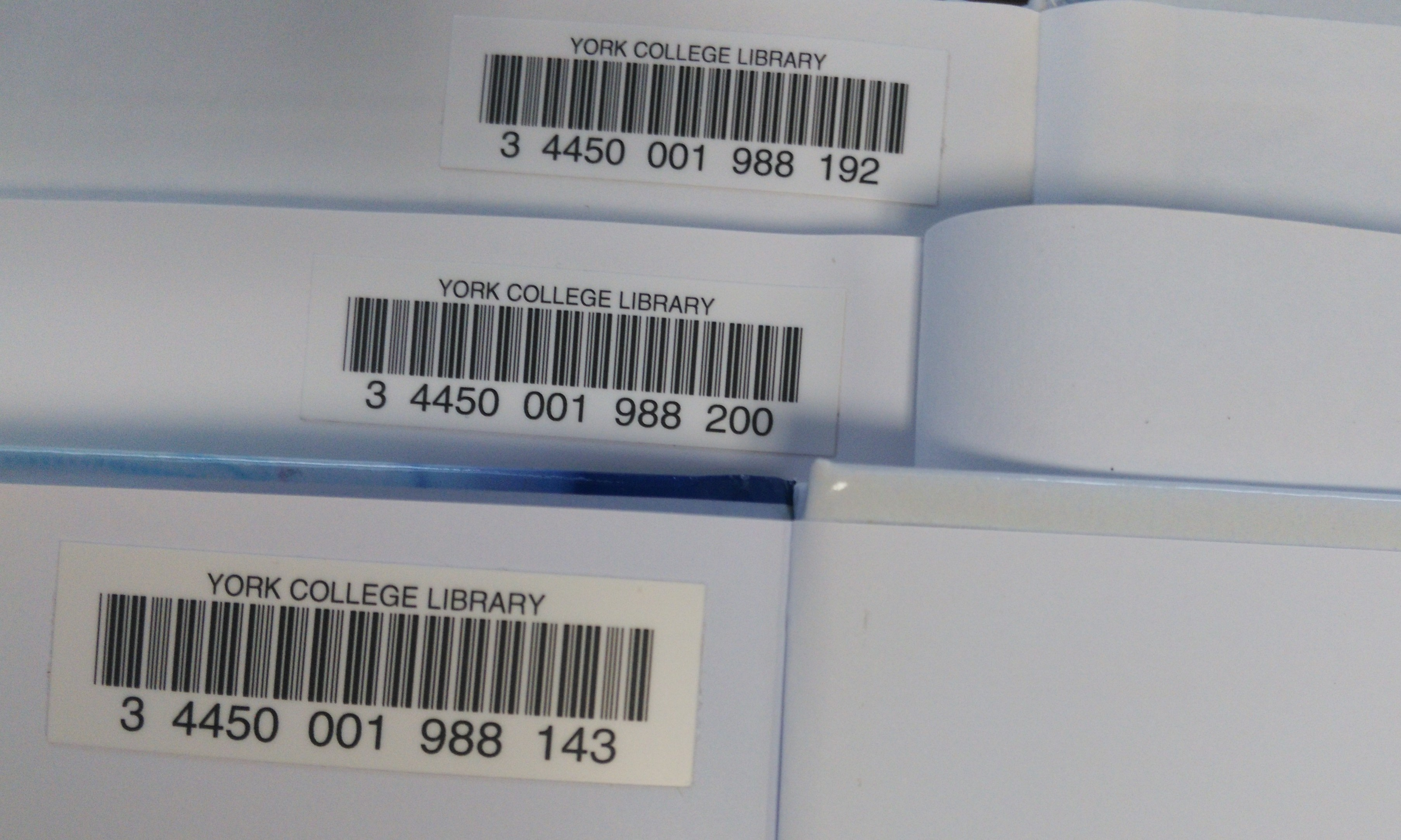 Examples of Barcodes