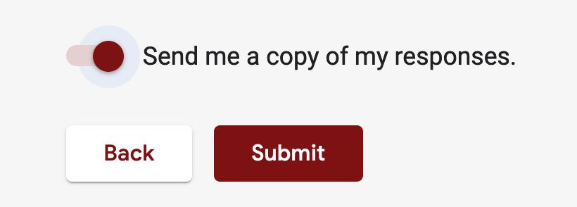 Send me a copy of my responses