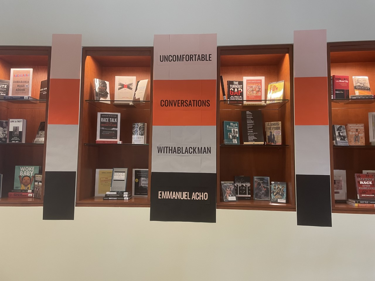 Photograph of the Display in the Library