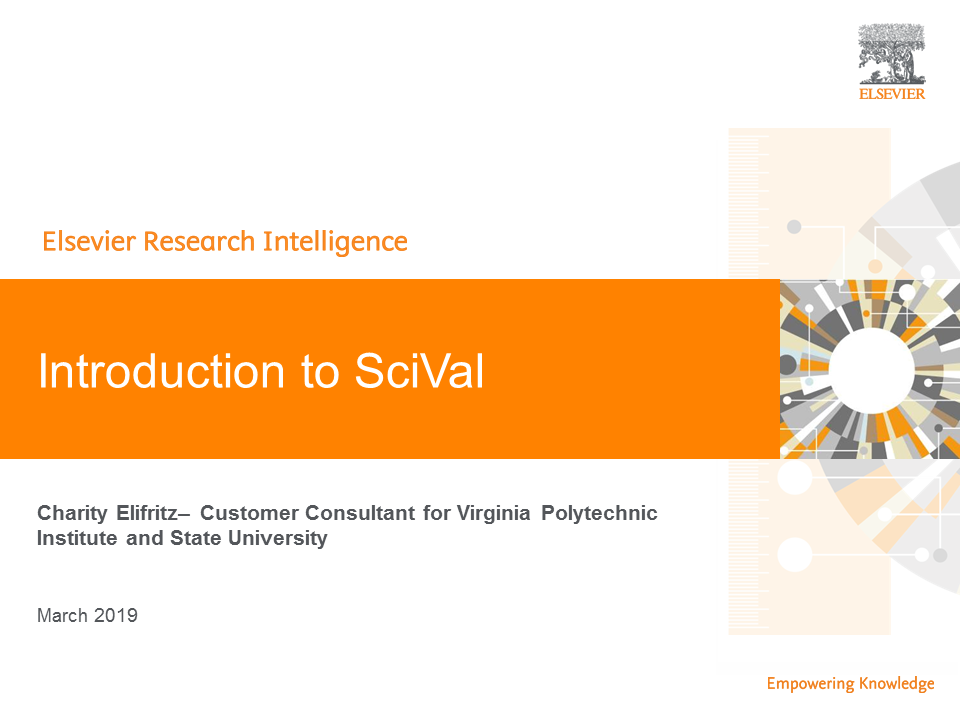 Introduction to SciVal