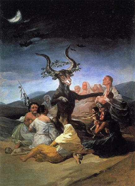 The Witches Sabbath by Goya