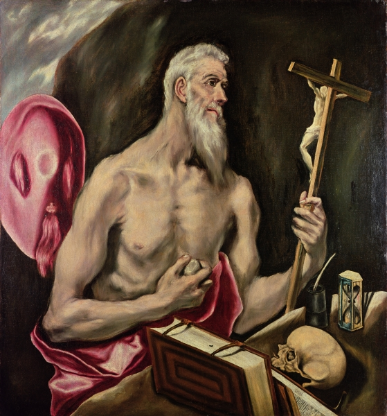 """St. Jerome,"" by El Greco."