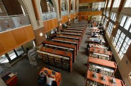 Waterbury Campus Library view from above