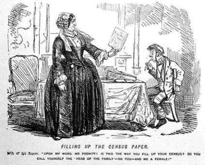 A cartoon featured in the July 1851 Harper's New Monthly Magazine