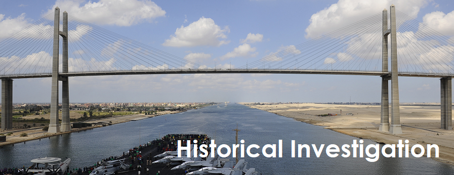 Historical Investigation: Bridge over the Suez Canal