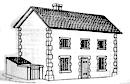 Farm laborers' cottage