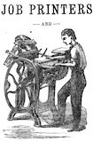 Job printer, 1871