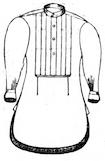 Men's shirt, 1872