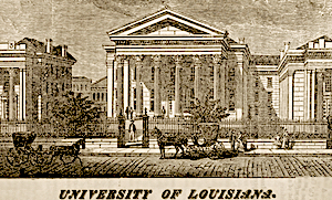 University of Louisiana, 1878