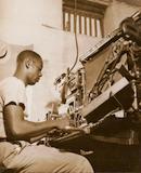 Linotypist, 1944
