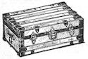 1908 steamer trunk