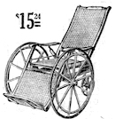 1911 wheelchair cost $15.24