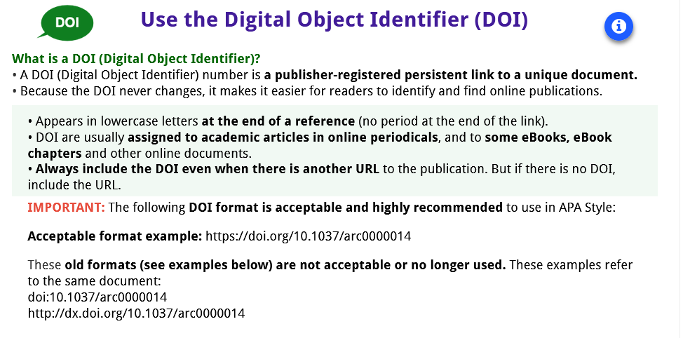 Introduction to the DOI Number