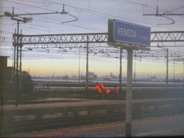 Venetian Railway Workers, Allan (Lee) Candler Presidential Purchase Award, 2012