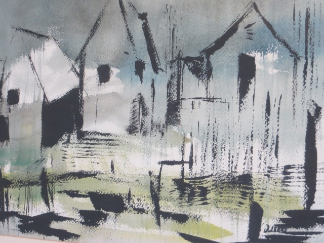 Time Was, Cynthia Dierks, 1965 Watercolor