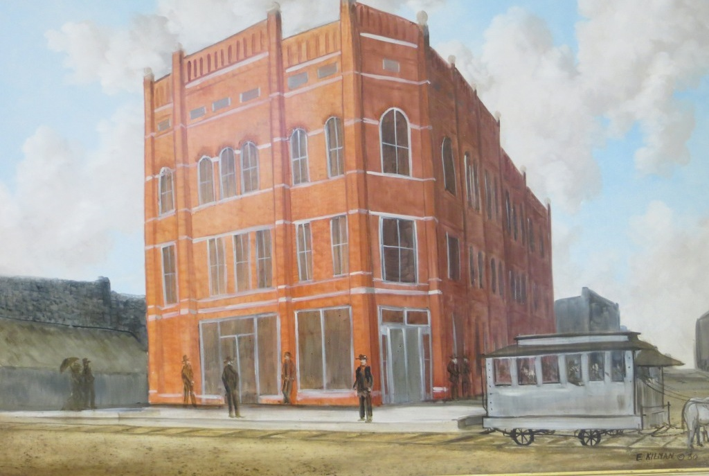 North Arkansas Bank Building in 1892, Main and Central, Batesville, AR